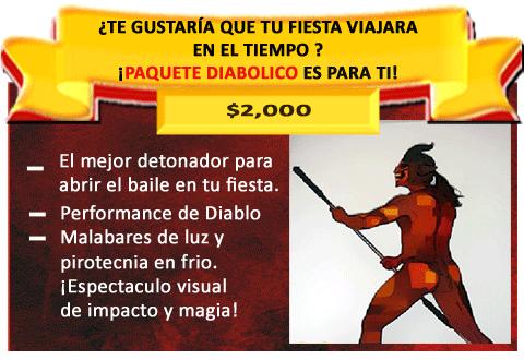 PERFORMANCE DIABOLICO