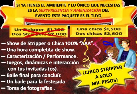 stripers economicos