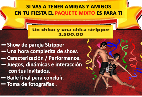 SHOW STRIPERS MIXTO